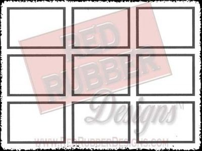 Designer Blocks Unmounted Rubber Stamp from Red Rubber Designs