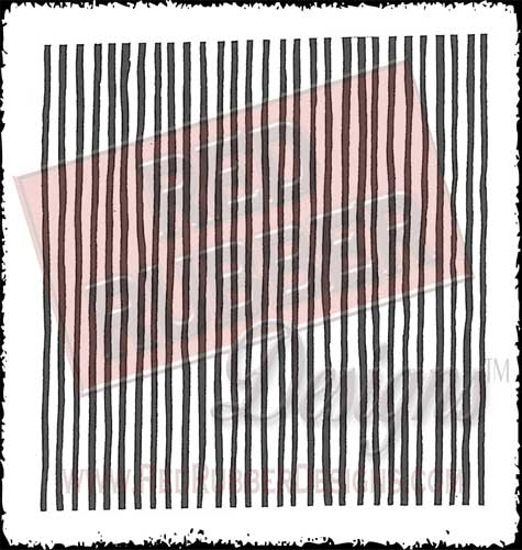 Background Stripes Unmounted Rubber Stamp from Red Rubber Designs