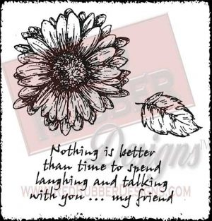 Nothing Is Better Unmounted Rubber Stamps from Red Rubber Designs