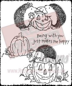 Being With You Unmounted Rubber Stamps from Red Rubber Designs