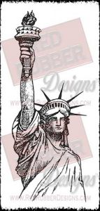 Liberty Unmounted Rubber Stamp from Red Rubber Designs