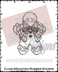 Ginger Joy Cling Mounted Rubber Stamp from Red Rubber Designs