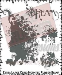Dream Cling Mounted Rubber Stamps from Red Rubber Designs