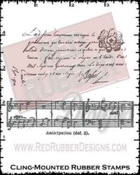 Vintage Backgrounds Cling Mounted Rubber Stamps from Red Rubber Designs