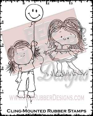 Wonder and Joy Cling Mounted Rubber Stamps from Red Rubber Designs