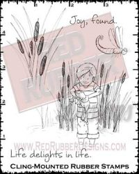 Joy Found Cling Mounted Rubber Stamps from Red Rubber Designs