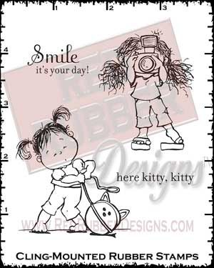 It's Your Day Cling Mounted Rubber Stamps from Red Rubber Designs