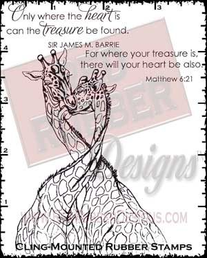 Treasure Found Cling Mounted Rubber Stamps from Red Rubber Designs