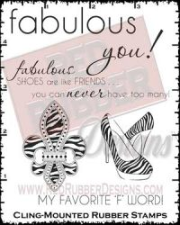 Fabulous You Cling Mounted Rubber Stamps from Red Rubber Designs