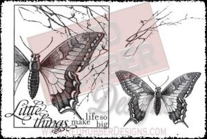 Life So Big Unmounted Rubber Stamps from Red Rubber Designs