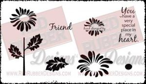 Place In My Heart Unmounted Rubber Stamps from Red Rubber Designs