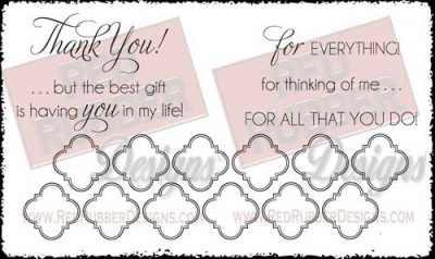 For Everything Unmounted Rubber Stamps from Red Rubber Designs