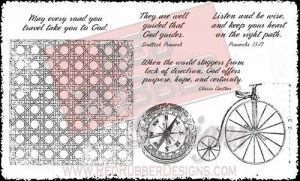 Every Road Unmounted Rubber Stamps from Red Rubber Designs