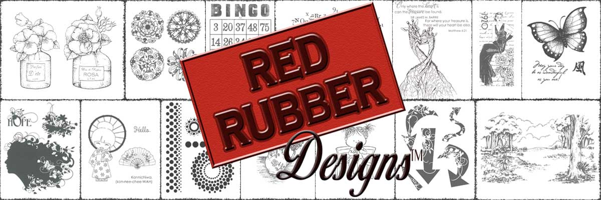 Red Rubber Designs Quality Rubber Art Stamps